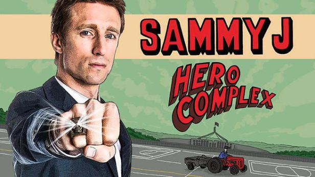 Sammy J Hero Complex.jpg