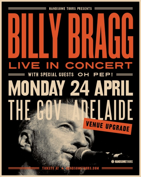 Billy Bragg Show Poster