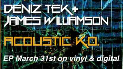 James Williamson & Deniz Tek Banner
