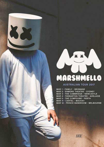 marshmello-australian-tour-poster