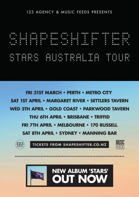 Shapeshifter Australian Tour