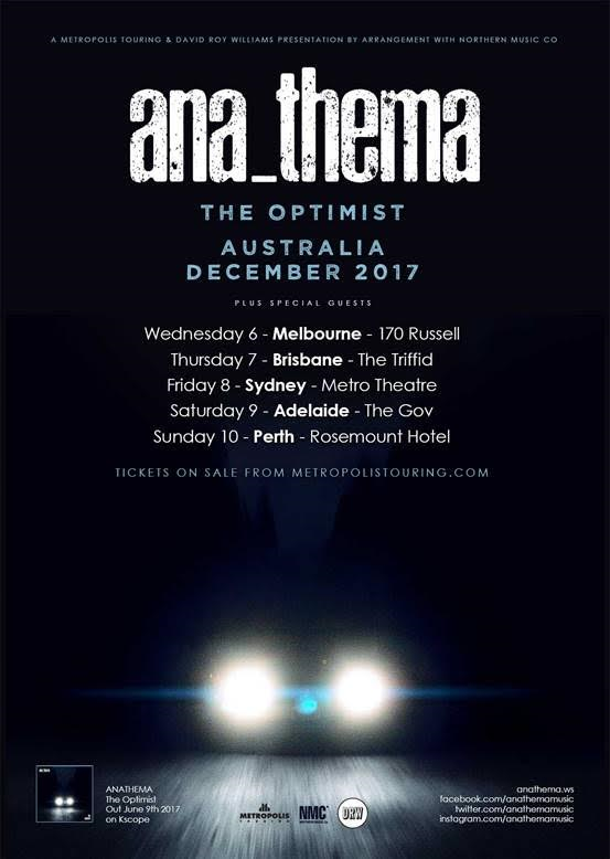 Anathema Tour Poster