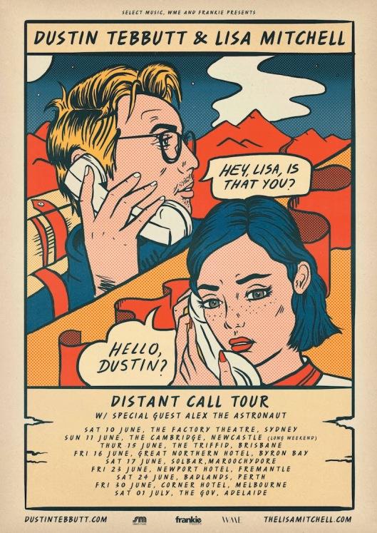Dustin Tebbutt Tour Poster