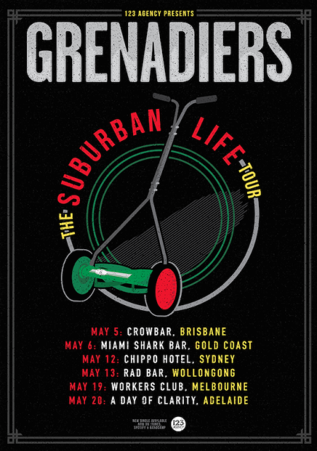 Grenadiers Tour Poster