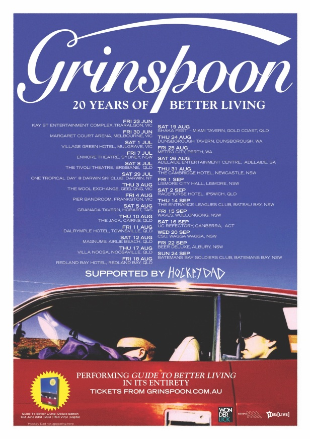 Grinspoon Tour Poster