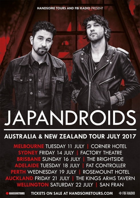 Japandroids Tour Poster