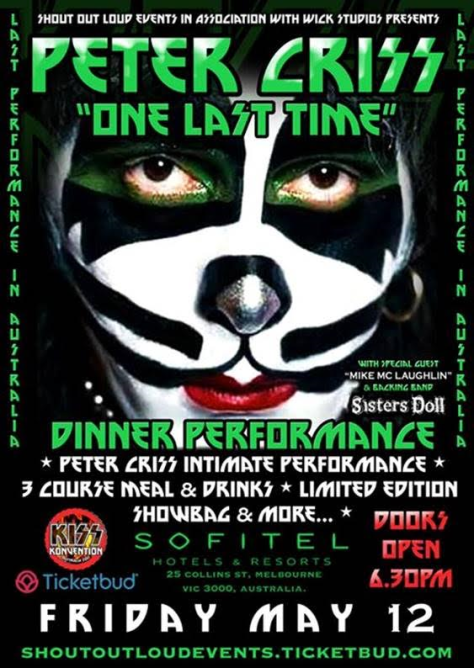Peter Criss One Last Time