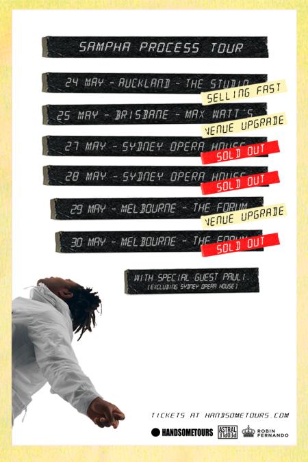 Sampha Australian Tour Poster