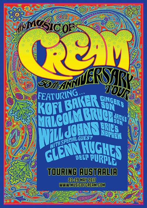 The Music Of Cream Poster
