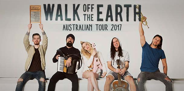 Walk Off The Earth Tour Banner