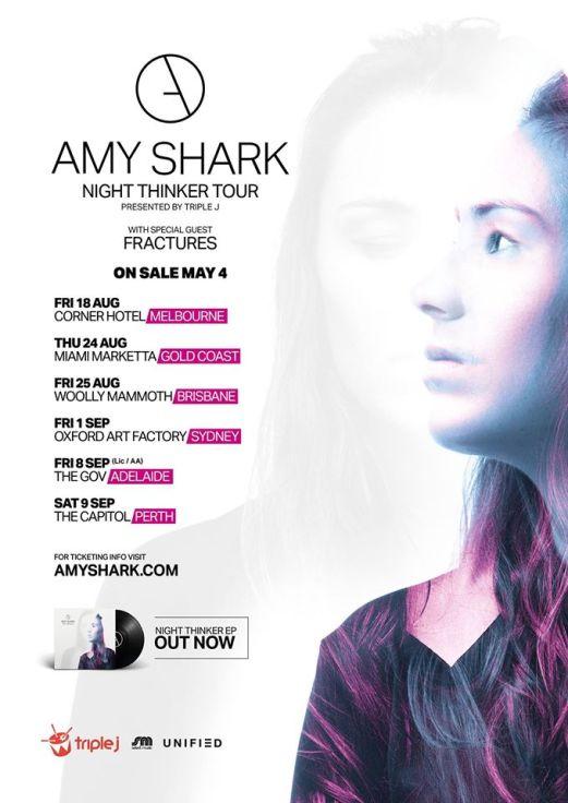 Amy Shark Tour Poster
