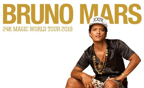 Bruno Mars Tour Banner