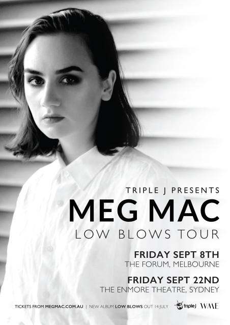 MMAC 004 - Meg Mac Tour A2 Poster