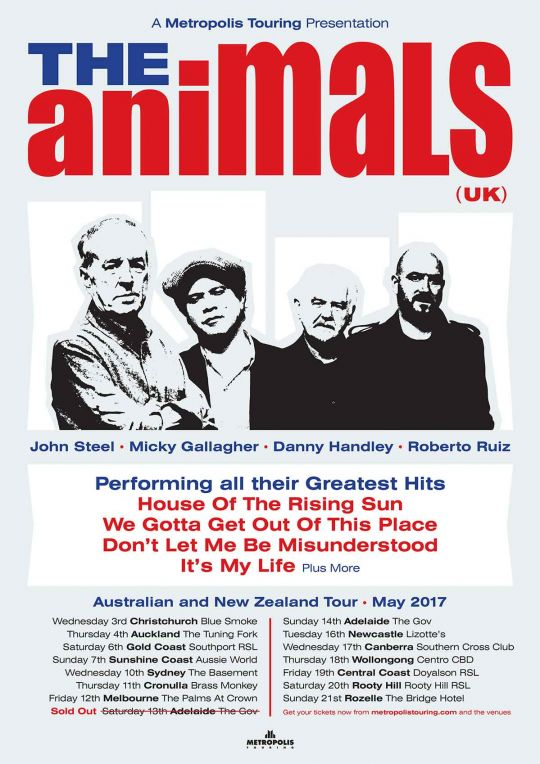 The Animals Tour Poster
