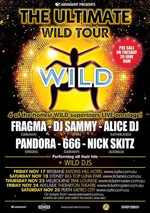 Wild Tour Poster