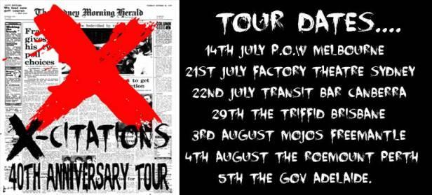 X Tour Dates