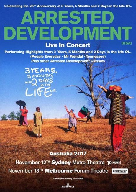Arrested Development Tour Poster