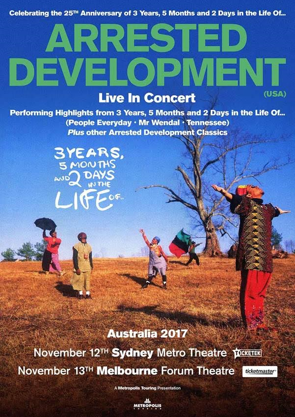Arrested Development Tour Poster