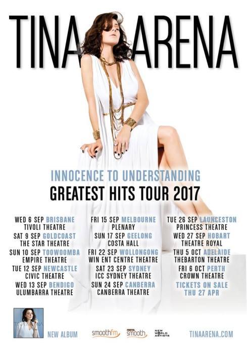 Tina Arena Tour Poster