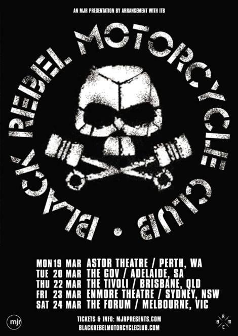 BRMC Tour Poster