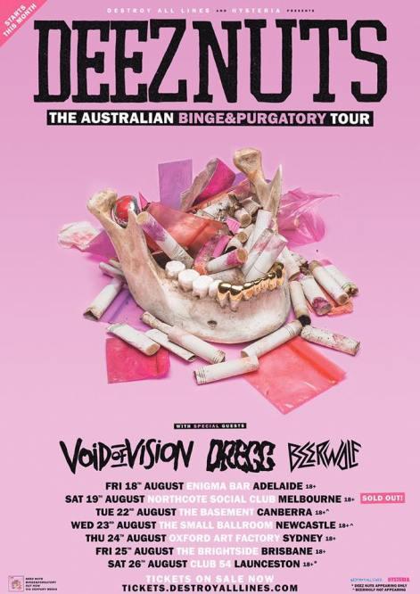 Deez Nuts Tour Poster