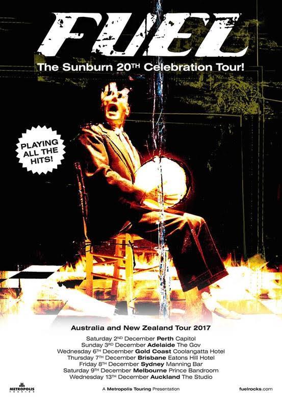 Fuel Tour Poster