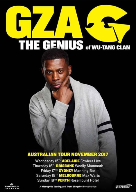 GZA Tour Poster