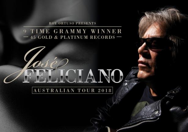 Jose Feliciano Tour Banner
