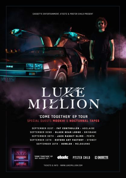 Luke Million Tour Poster