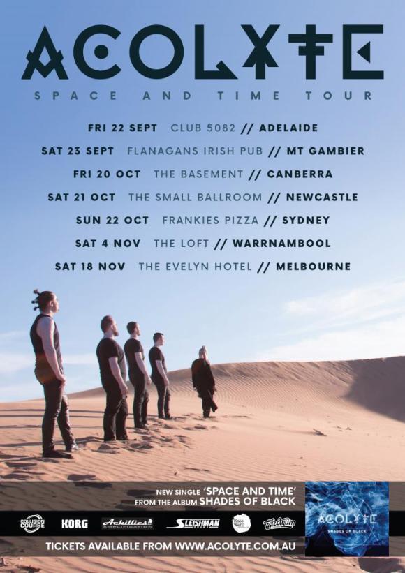 Acolyte Tour Poster
