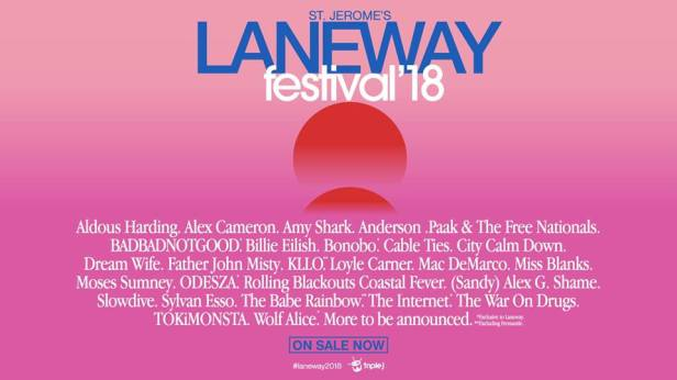 Laneway Festival Banner