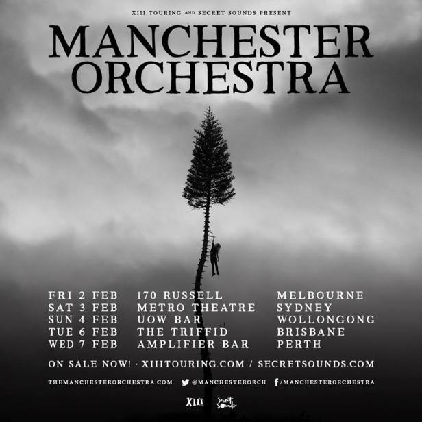Manchester Orchestra Tour Poster