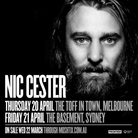 Nic Cester Tour Dates