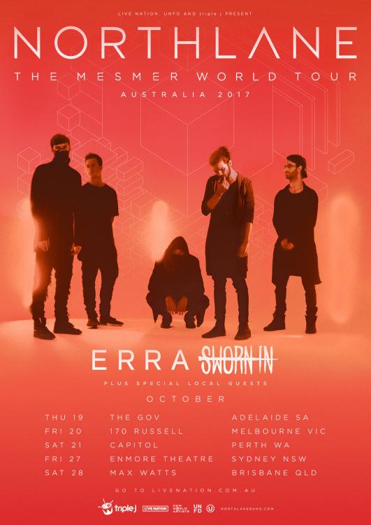 Northlane Tour Poster 1