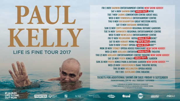 Paul Kelly Banner Updated