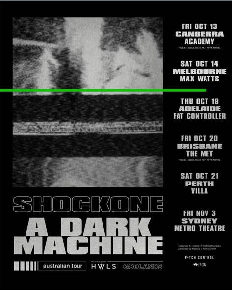 Shockone Tour Poster