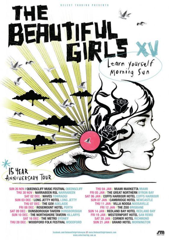 The Beautiful Girls Tour Poster