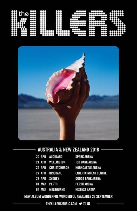 The Killers Tour Poster