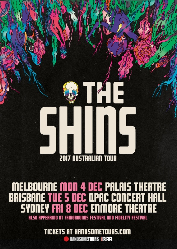 The Shins Tour Poster
