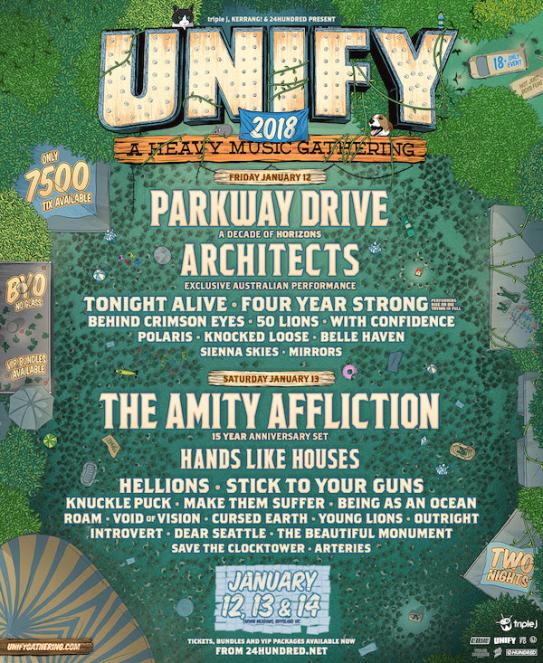 Unify Tour Poster