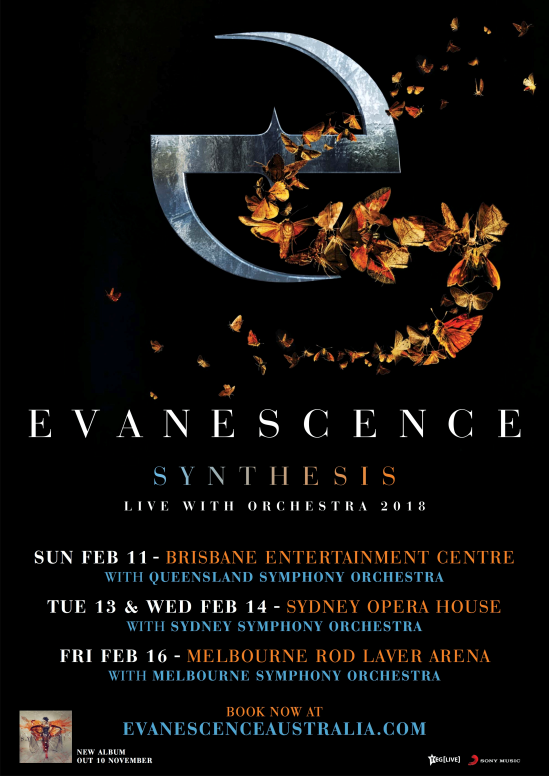 Evanescence Tour Poster