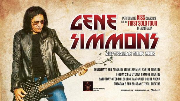 Gene Simmons Tour Banner