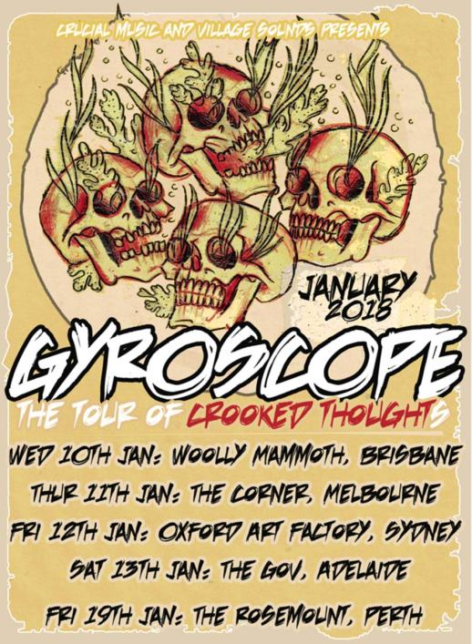 Gyroscope Tour Poster
