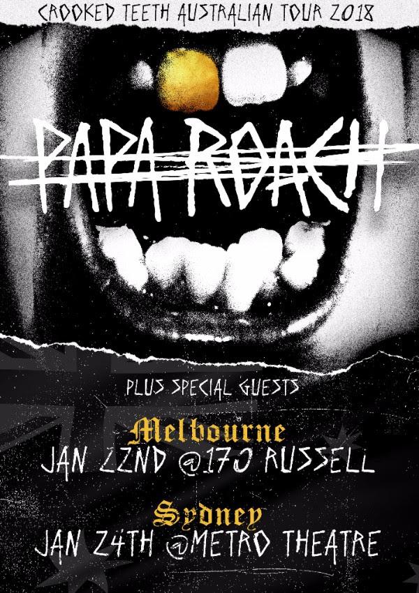 Papa Roaach Tour Poster