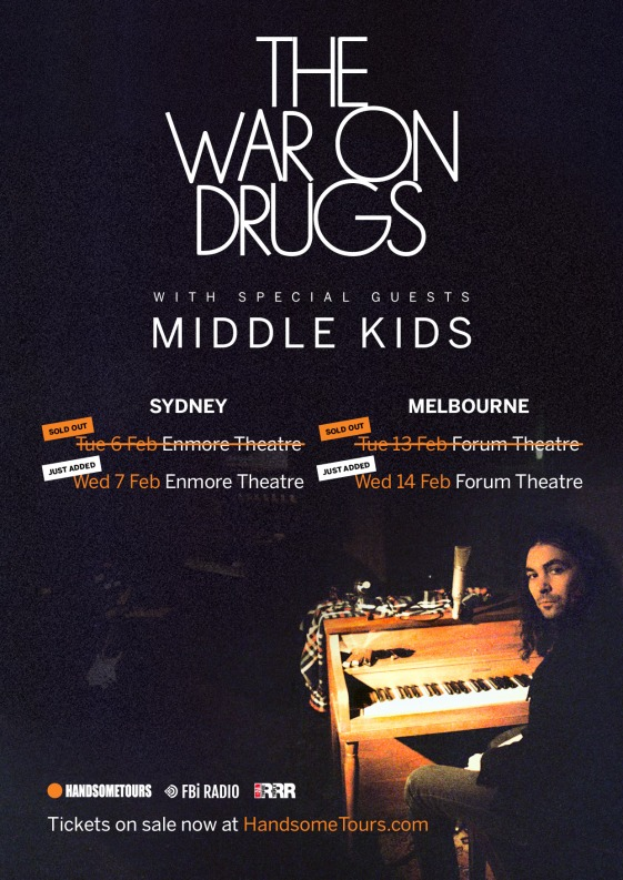 War On Drugs Tour Poster 2