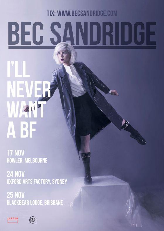 Bec Sandridge Tour Poster