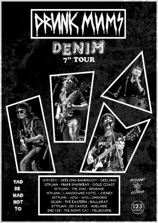 Drunk Mums Tour Poster