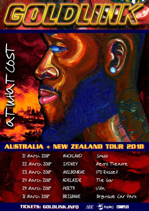 Goldlink Tour Poster