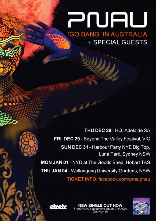 PNAU Tour Poster