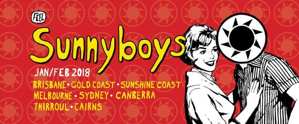 Sunnyboys Tour Banner